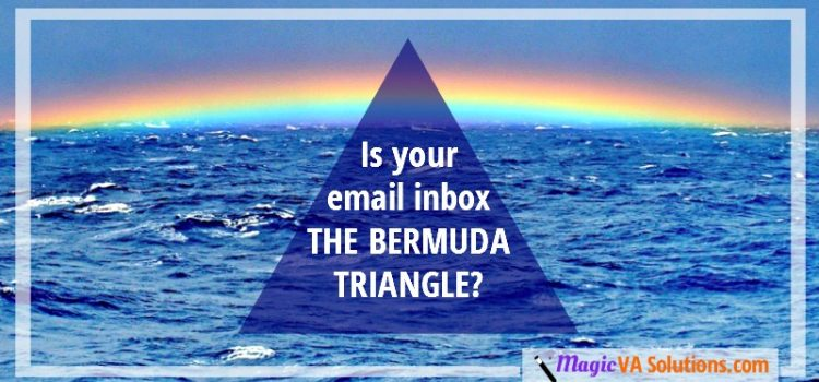 Is your email inbox the Bermuda Triangle?