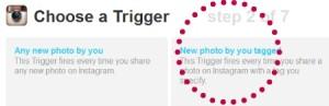 IFTTT Trigger screenshot