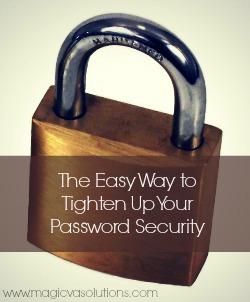 Brass Padlock - The Easy Way to Tighten Up Your Password Security