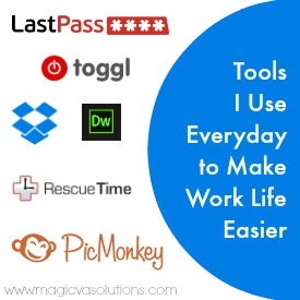 Tools I Use Everyday to Make Work Life Easier