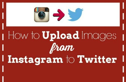 How to Upload Images from Instagram to Twitter