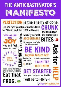 The Anticrastinator's Manifesto